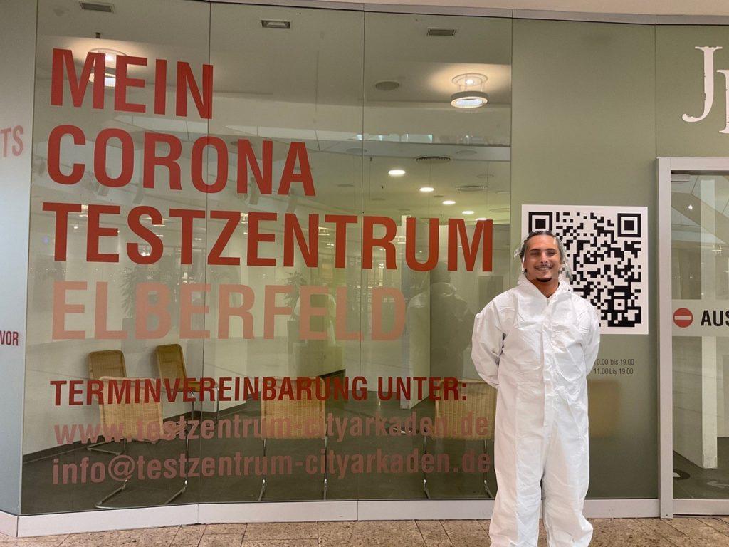Corona Testzentrum Wuppertal City-Arkaden